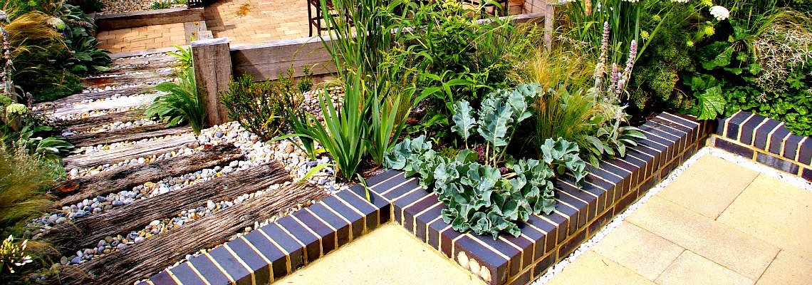 Coastal Style Garden Design