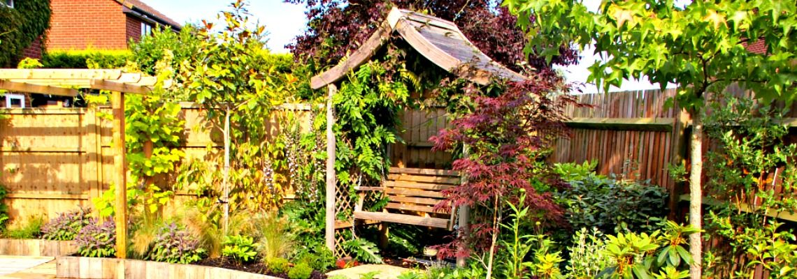 Reading nook garden design