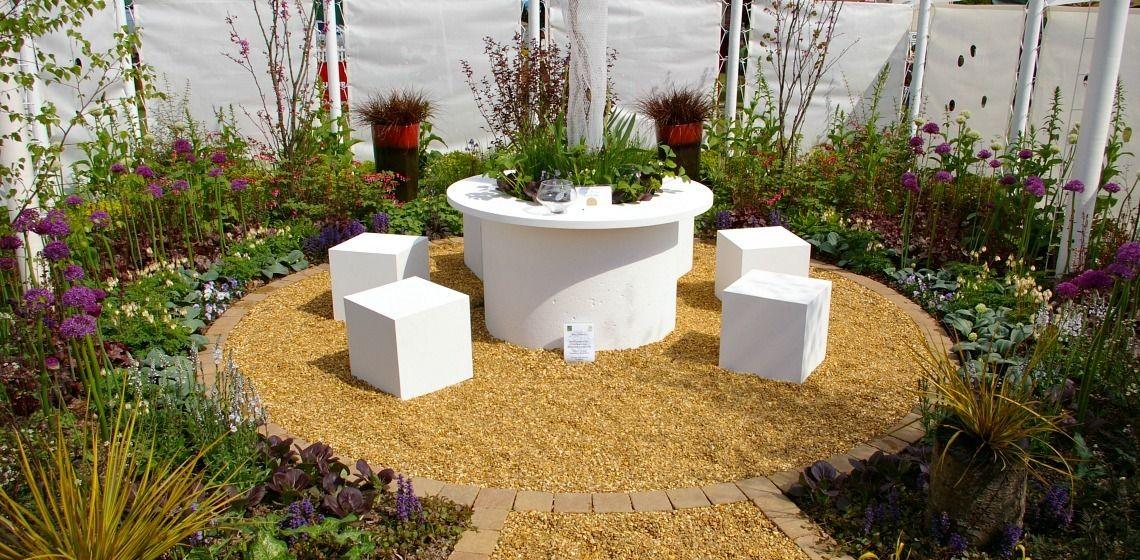Malvern Spring Show Circus Garden Seating